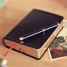 Leather Journal Notebook With Thick Paper Book Vintage School Planner Diary Gift