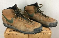 RARE 1980 Nike ACG Trekking Waffle Sole Perma Foam Hiking Shoes Sz 9 Distressed