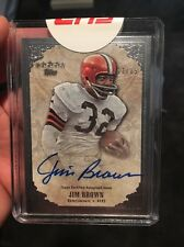 Jim Brown 2012 Topps Five Star Signatures Cleveland Browns Auto Autograph 11/85