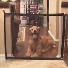 Pet Dog Cat Baby Safety Gate Mesh Fence Portable Guard Indoor Home Kitchen Net