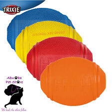 Snack Rugby Ball, Natural Rubber Fill with Dog treats extra playing fun 8 & 10cm