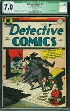Detective Comics #91 CGC 7.0 Qualified Early Classic Joker Cover Rare!