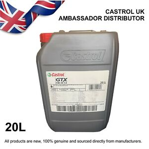 20L Castrol GTX 5w-30 5W30 C3 Fully Synthetic Engine Oil VW 50400 50700