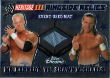WWE Shawn Michaels Kennedy 2008 Heritage Ringside Relic Event Used Mat Card DWC