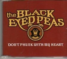 (CT873) The Black Eyed Peas, Don't Phunk With My Heart - 2005 DJ CD