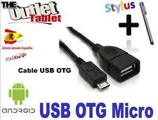 Cable USB OTG para tablet huawei MediaPad Link 10 Plus Conexión micro