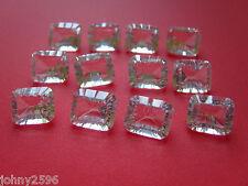 Un Blanc Quartz loose Gemstones 12x10mm octogonale £ 3.00 chacun.