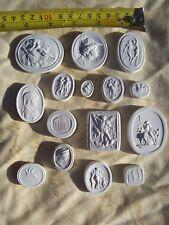 15 grand tour cameos intaglios gems medallions seals cameos plaster coins tassie