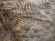 BROWN FEATHER HEAD UPHOLSTERY DRAPERY FABRIC BY THE YARD