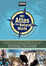BBC Atlas of the Natural World - Western Hemisphere (DVD, 2006, 6-Disc Set) NEW