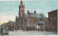 POSTCARD  BLACKPOOL  Town Hall  Talbot Square