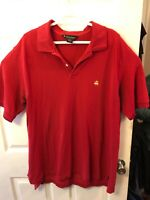 Brooks Brothers Men's Red Polo with Logo Size XL