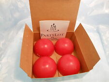 PARTYLITE CANDIED APPLES AROMA MELTS - BOX OF 4 - Z24326