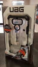 LG G6 (2017) - UAG Urban Armor Gear PLASMA CASE - Ice And Black (Clear) NEW
