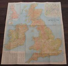 Scotland Vintage Original Antique Europe Folding Maps