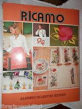 RICAMO Alfredo Valentini 1978 Manuale Enciclopedico Cucito Donna Femminile di e