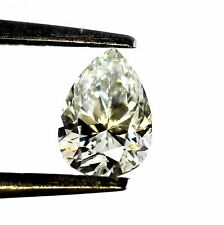 1.00ct pear cut loose diamond GIA Certified SI2 K 7.50 X 5.30 X 3.97 MM vintage