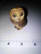 "Pot Bellys Zoologicals Miniature Owl Short Ear Owl Container 2"" Tall(short Ear)."