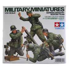 Tamiya German Infantry Mortar Team Set (Scale 1:35) Military Model Kit 35193 NEW