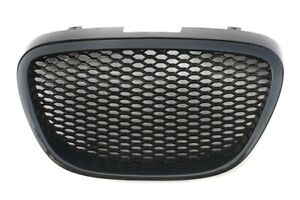 For Seat Leon 1P Cupra FR Badgeless Debadged  Front Mesh Honeycomb Grill -09