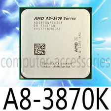 AMD A8-Series A8-3870K 3 GHz Quad-Core Socket FM1 CPU Processor