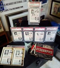 1945 Leister Autograph Game PSA 9 Set MINT Original Box