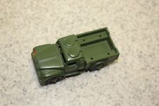 Vintage DINKY TOYS #641 ARMY 1 TON CARGO Made In England MECCANO LTD Green Truck