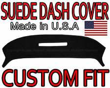 fits 1968-1977 CHEVROLET CORVETTE SUEDE DASH COVER MAT DASHBOARD PAD / BLACK