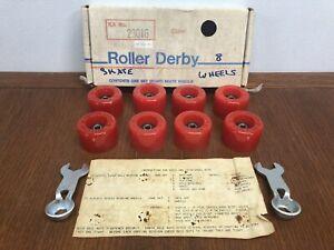RARE NOS Vintage Roller Derby Skate Wheels Kit No. 23016 Roller Derby Skate Corp