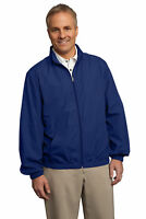 Port Authority Men's Polyester Lightweight Winter Jacket Windbreaker. J305