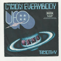 "UFO- C'mon Everybody / Timothy- Vinyl,7"",45 RPM,Single-D- 1970 Rock Sammlung sg"