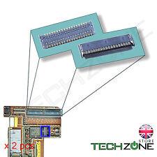 2 X Ipad 2 3 4 Touch Digitalizador de Pantalla Fpc Conector Enchufe Zócalo De Placa Lógica