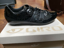 NEW Giro Factor Techlace Cycling Shoes Black EU 45/US 11