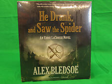 He Drank, and Saw the Spider: An Eddie Lacrosse Novel (Book 5) Audio CD – Audio