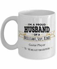 Guitar Player Mug Guitar Player Gift Husband Coffee Mug Birthday Gift Wife To