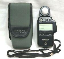 Minolta Auto Meter IV-F Flash Light Meter w/ Case