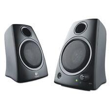 Logitech Z130 Compact 2.0 Stereo Speakers, 3.5mm Jack - Black