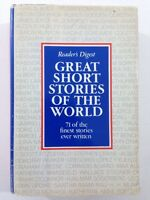 Great Short Stories of the World - Reader's Digest (1972, Hardcover, DJ, 1st Ed)