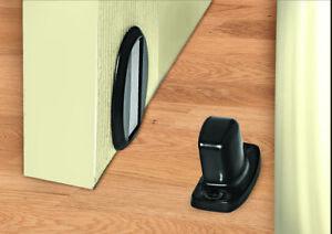 Magnetic Door Stopper Magnet Door Stop with Mounting Screws Stainless Steel