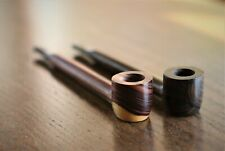 """5.5"""" Exotic Wood Pipe- Extra Long Smooth Pipe with mouthpiece"""