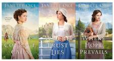 Janette Oke RETURN TO THE CANADIAN WEST Christian Series PAPERBACK Set 1-3