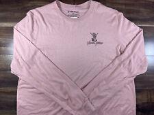 NWT Volcom Stone Pink Long Sleeve T-shirt Size Large
