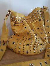 Missoni Yellow Leather Duffle  Bag