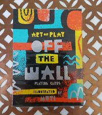 Off the Wall Playing Cards by Art of Play New & Sealed USPCC Deck
