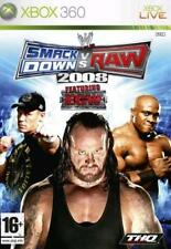 Xbox 360 - WWE SmackDown vs Raw 2008 Featuring ECW **New & Sealed** UK Stock