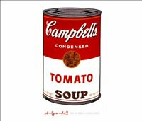 Andy Warhol Campbell's Soup Can Pop Art Abstract Painting Print Poster 11x14 New