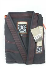 Century Spider Monkey Brazilian Jiu-Jitsu Uniform (Black,A2)