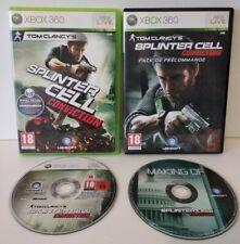 Splinter Cell Conviction XBOX 360 + DVD Bonus -PAL Fr -Complet -Comme neuf