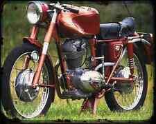 Ducati 175 Sport A4 Photo Print Motorbike Vintage Aged