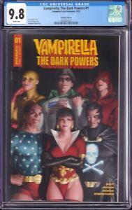Vampirella: The Dark Powers #1 (Dynamite Ent., 2020) CGC 9.8 Variant Cover D